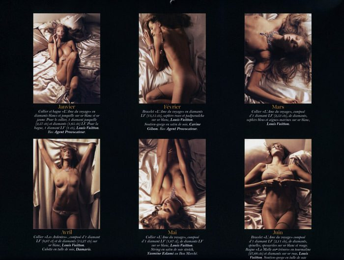 Le Calendrier 2011 Vogue: Daria Werbowy by Mikael Jansson 3