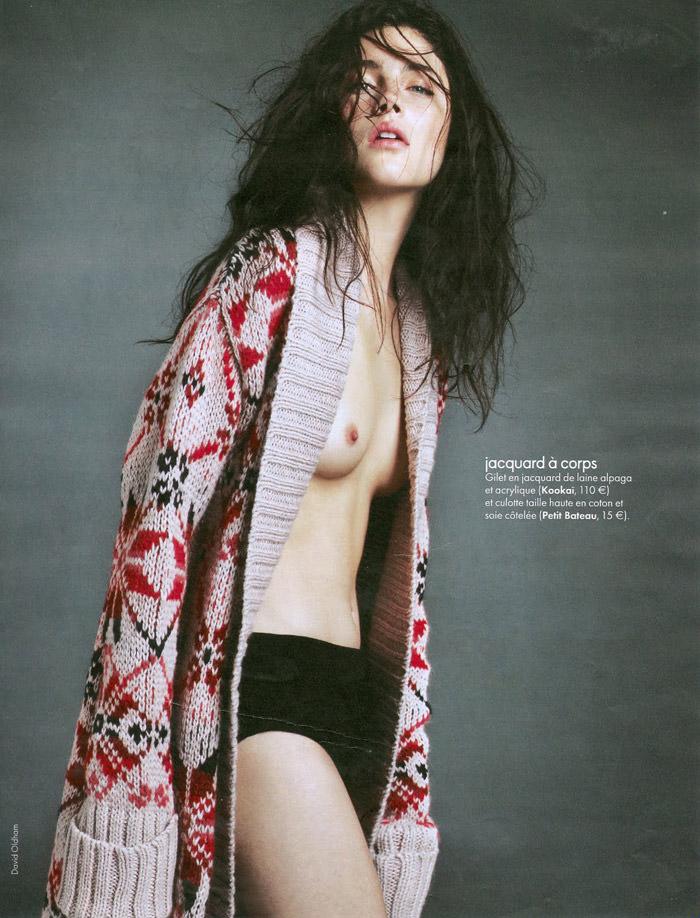 Anna Christine Speckhart photographed by David Oldham for Elle France, October 2010 5
