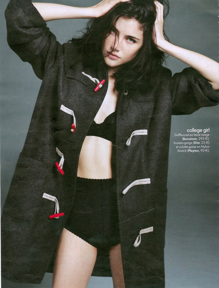 Anna Christine Speckhart photographed by David Oldham for Elle France, October 2010 6