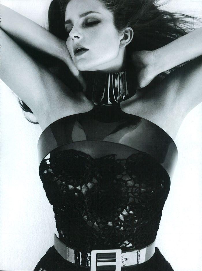 "Enikő Mihalik photographed by Greg Kadel in ""Like A Star"" for Vogue Italia, November 2010 5"