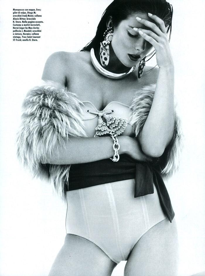 "Enikő Mihalik photographed by Greg Kadel in ""Like A Star"" for Vogue Italia, November 2010 7"