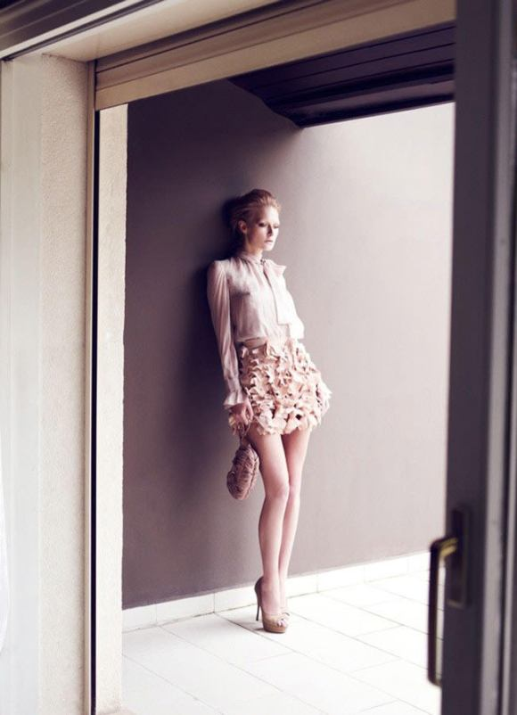 Wiola Kowal photographed by Emre Guven for Harper's Bazaar Türkiye, November 2010 2