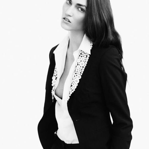 Tallulah Morton photographed by Nadine Ottawa for Fallen #6 1