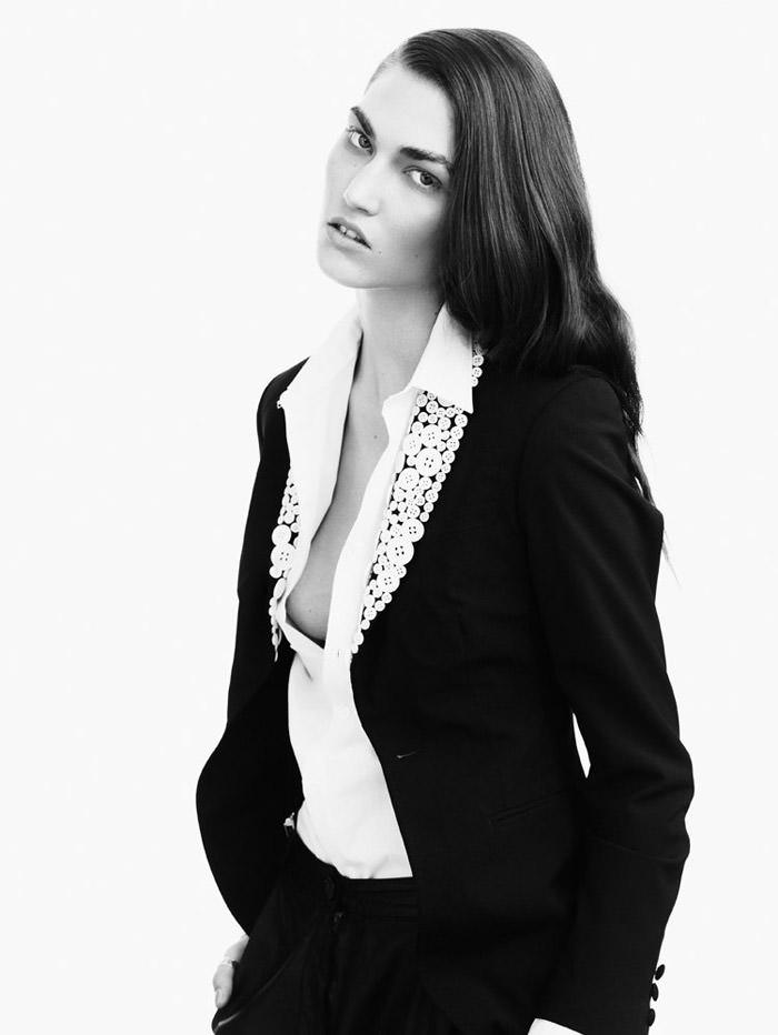 Tallulah Morton photographed by Nadine Ottawa for Fallen #6 3