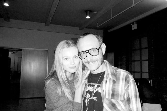 Edita Vilkeviciute & Terry Richardson @ Milk Studios 1