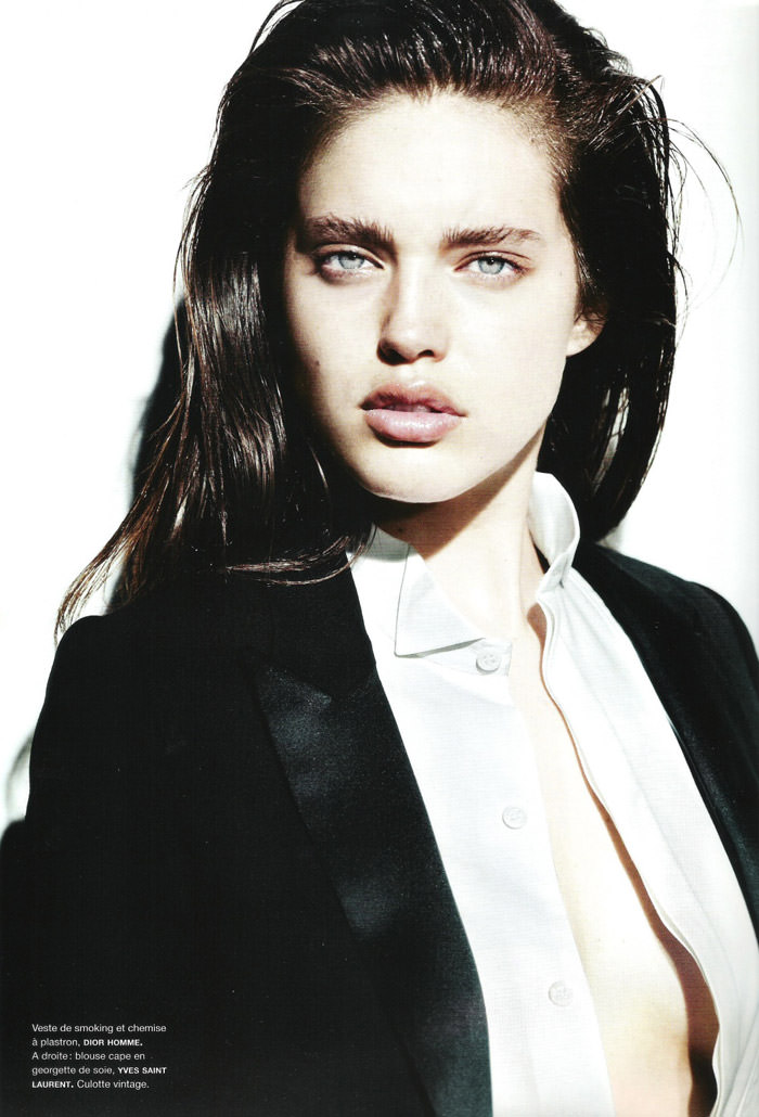 "Emily Didonato photographed by Liz Collins in ""View To A Kill"" for Numéro #119 4"