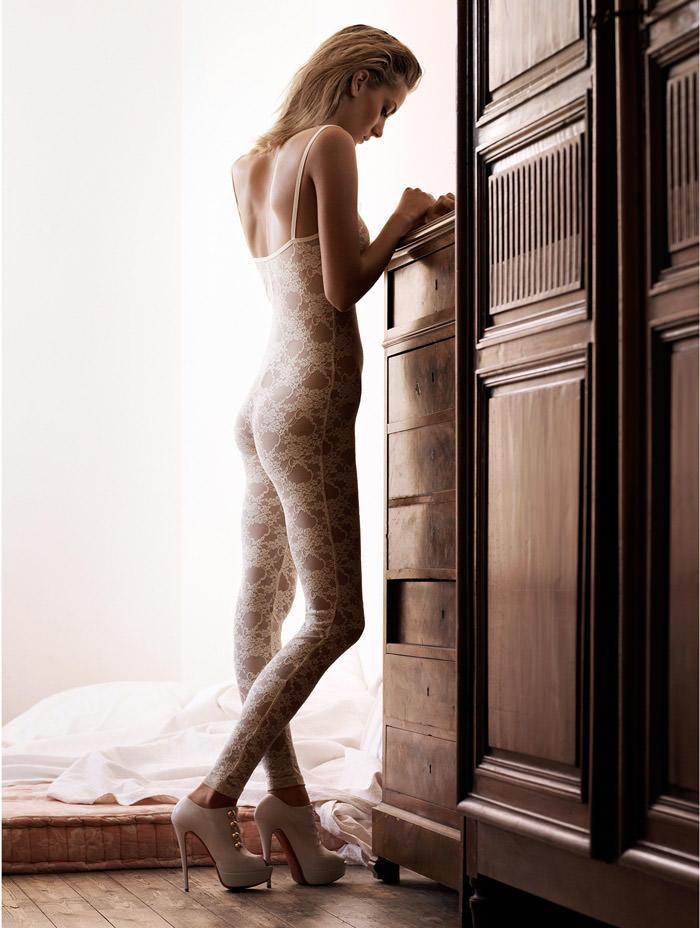 "Denisa Dvorakova photographed by Johan Sandberg in ""White Affair"" for Marie Claire Italia, January 2011 1"