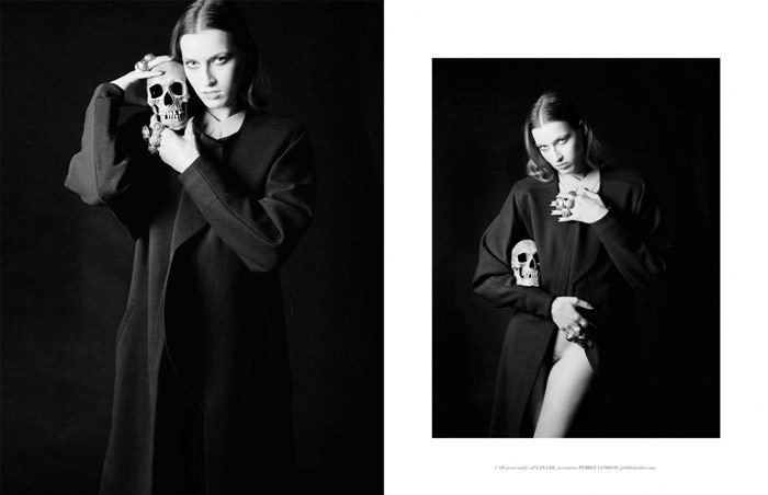 """""""Lux Et Sonor"""" photographed by Nicole Maria Winkler for The Ones 2 Watch, Issue #09 12"""