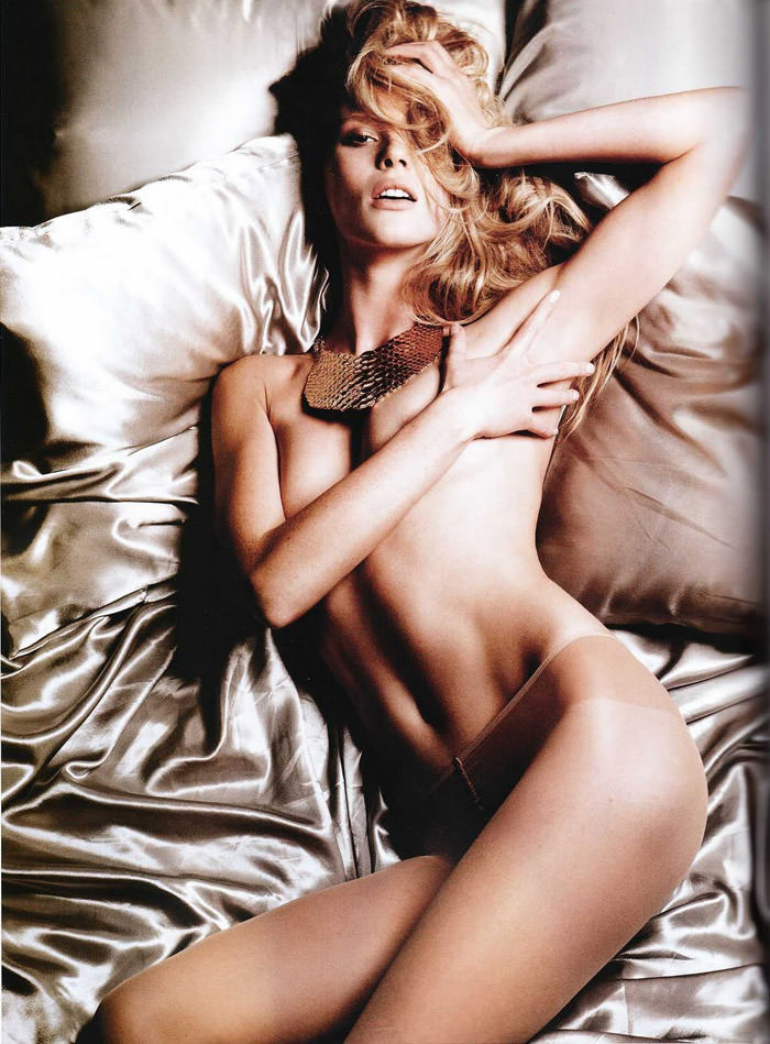 Anne Vyalitsyna photographed by Yu Tsai for Tush, Spring 2011 2