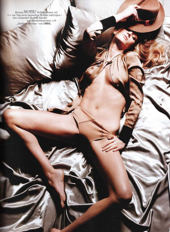 Anne Vyalitsyna photographed by Yu Tsai for Tush, Spring 2011 5