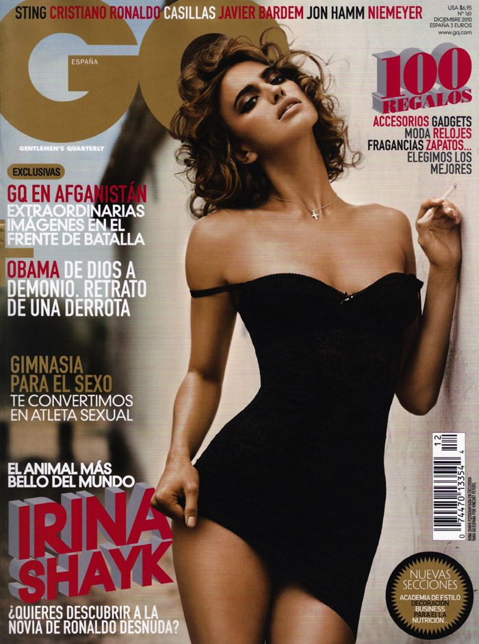 Irina Shayk photographed by Vincent Peters for GQ Spain, December 2010 2