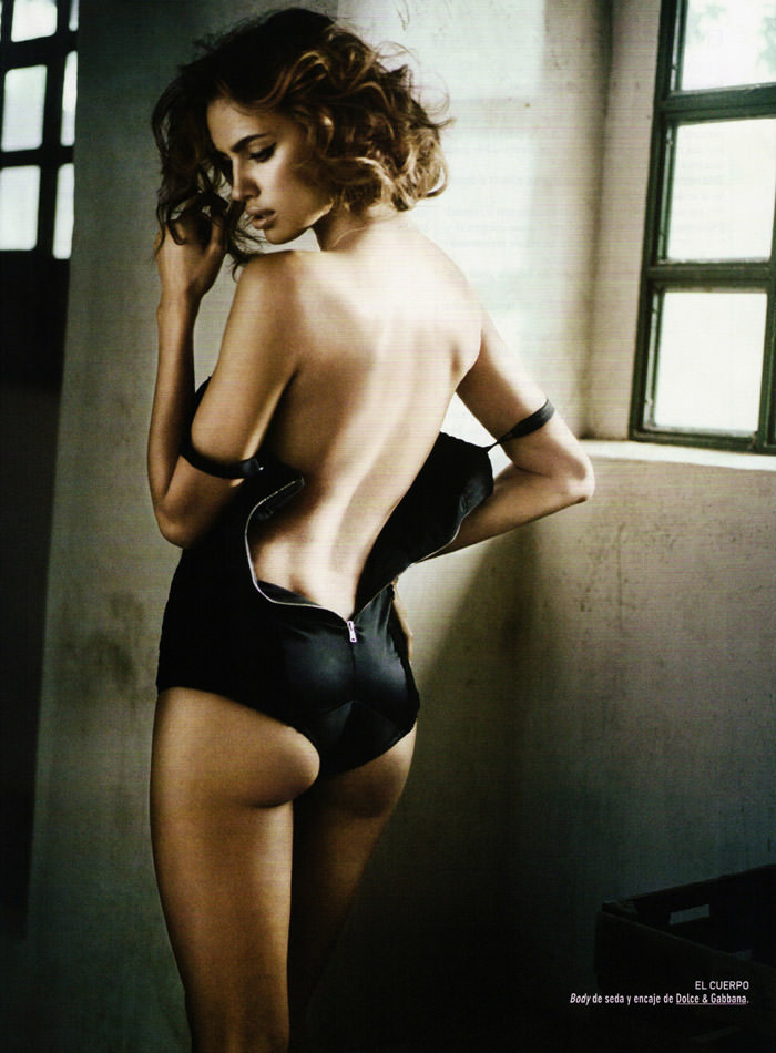 Irina Shayk photographed by Vincent Peters for GQ Spain, December 2010 6