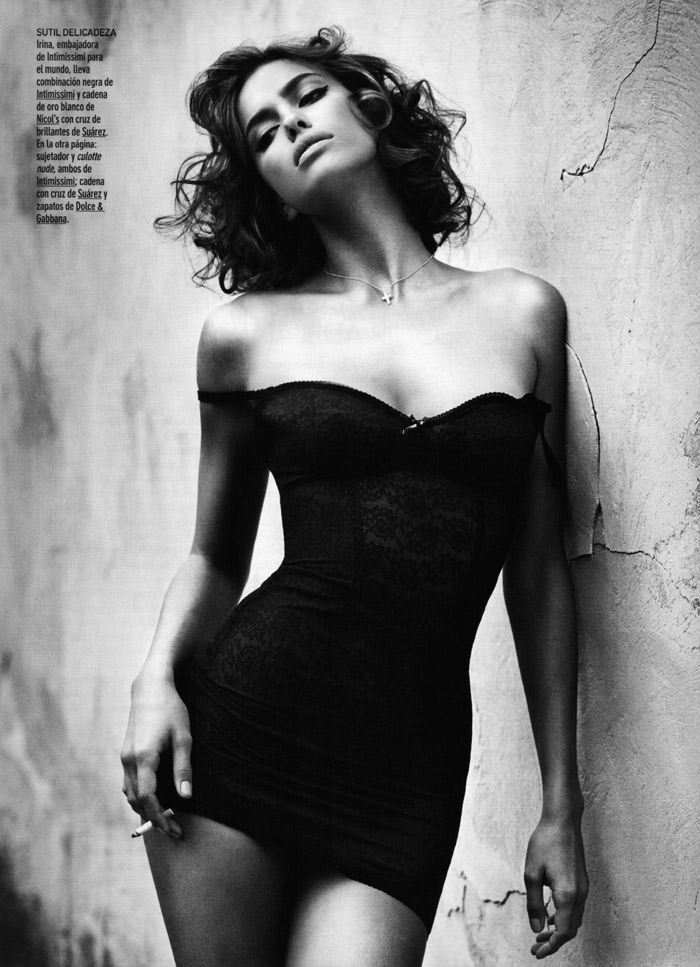 Irina Shayk photographed by Vincent Peters for GQ Spain, December 2010 9