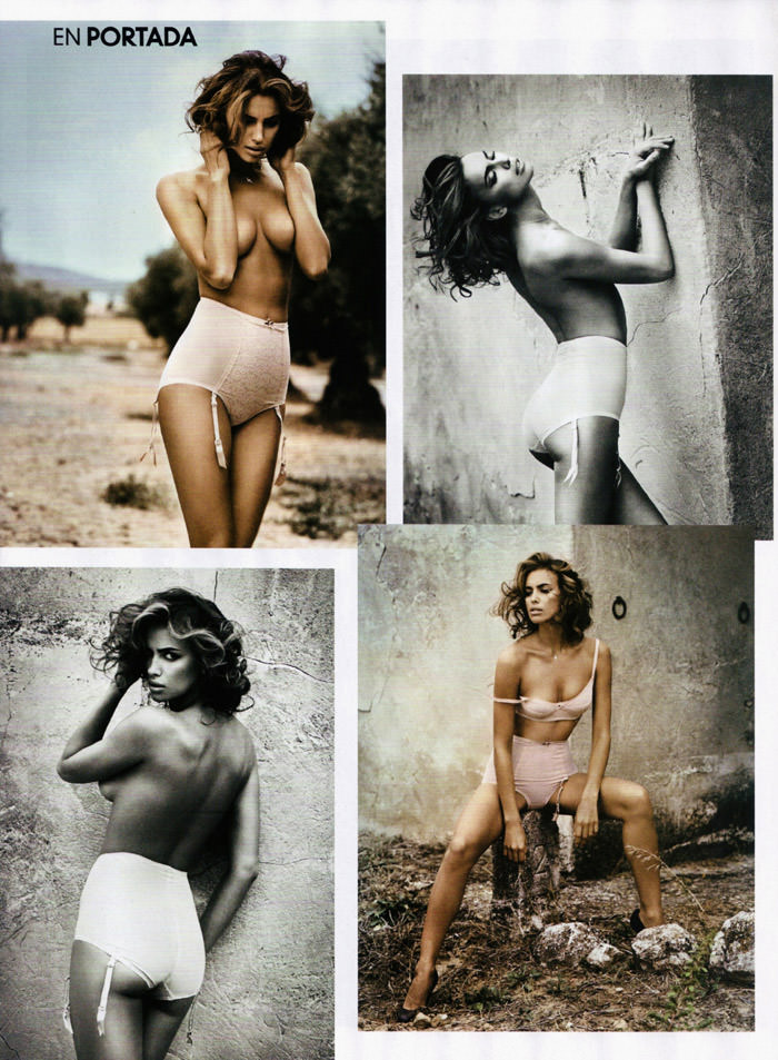 Irina Shayk photographed by Vincent Peters for GQ Spain, December 2010 10