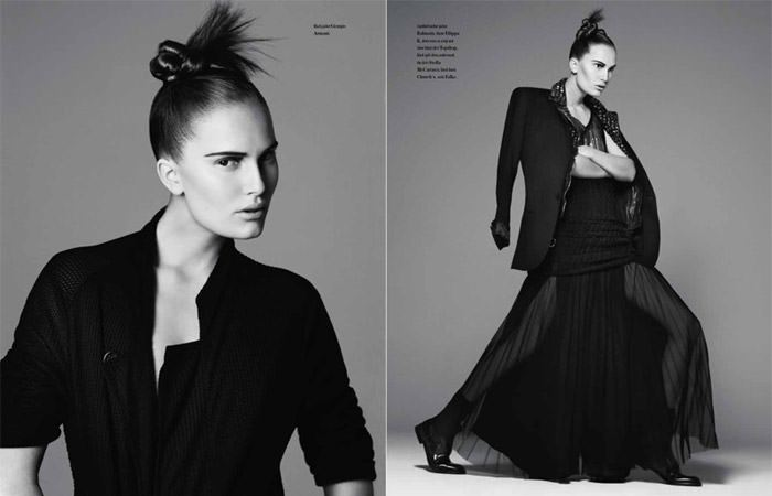 "Alla Kostromichova photographed by Ben Weller in ""Dancing In The Dark"" for Bon, Spring / Summer 2011 7"
