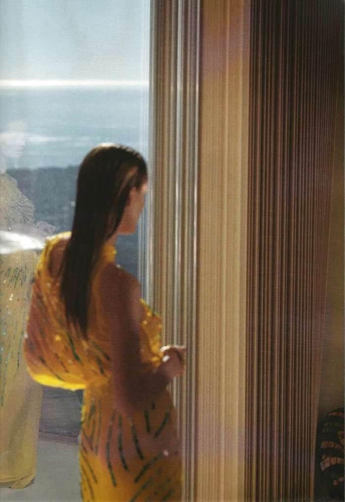 Edita Vilkeviciute photographed by Jeff Burton for Numéro #120, February 2011 6