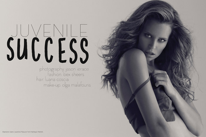 """Juvenile Success"" photographed by Jason Ierace for Tangent Magazine #6 2"