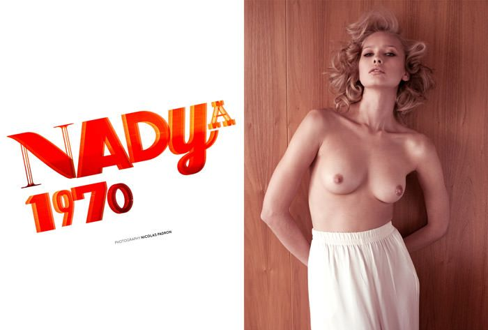 """Nadya by Nicolas Padron in """"Nadya 1970"""" for The Ones 2 Watch 2"""