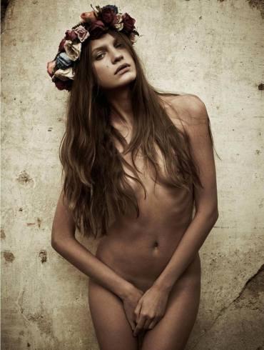 "Regina Feoktistova photographed by Mariano Vivanco in ""Like A Virgin"" for Hercules, Spring & Summer 2011 1"