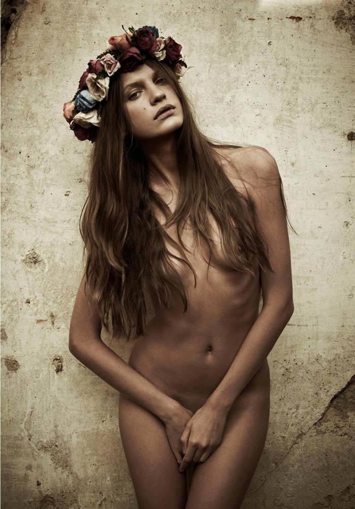 "Regina Feoktistova photographed by Mariano Vivanco in ""Like A Virgin"" for Hercules, Spring & Summer 2011 3"