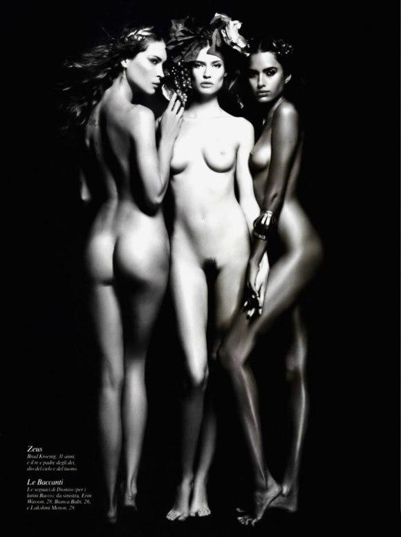 Karl Lagerfeld: Pirelli Calendar 2011 7
