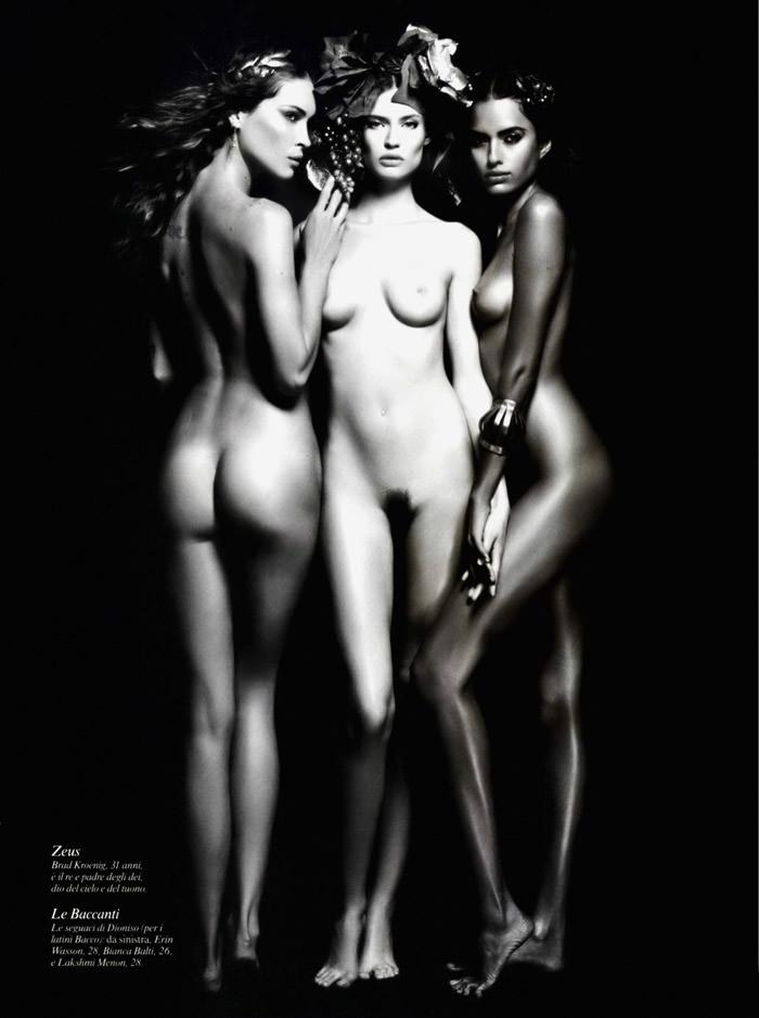 Karl Lagerfeld: Pirelli Calendar 2011 8