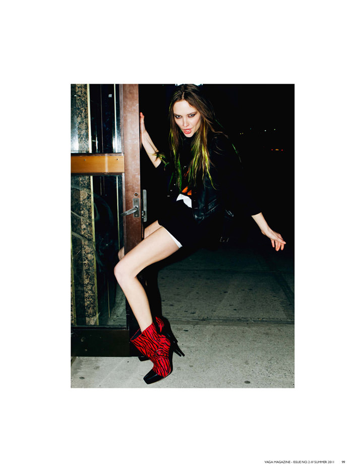 Alisa Frolkina photographed by Michael Donovan for Vaga Magazine #2, Summer 2011