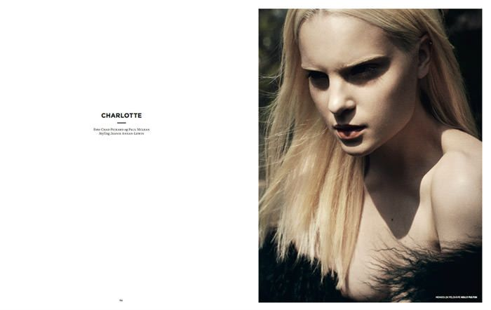 Charlotte photographed by Chad Pickard & Paul McLean for Smug #4 2