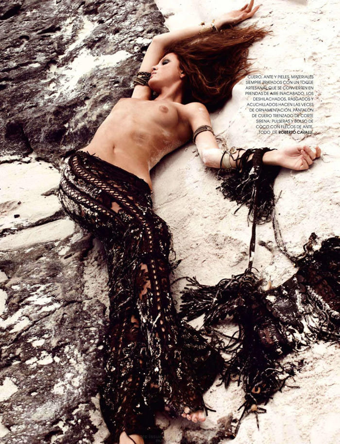 """Regina Feoktistova photographed by David Roemer in """"New Age"""" for Marie Claire España, July 2011 6"""