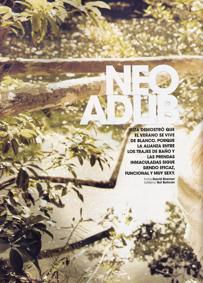"Regina Feoktistova photographed by David Roemer in ""Neo Adlib"" for Marie Claire España, June 2011 2"