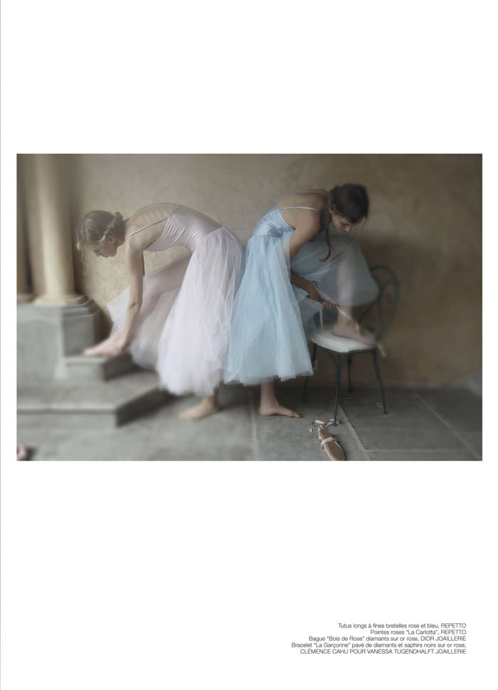 Lidia Kochetkova & Olesya Yarokhina by David Hamilton for Soon International
