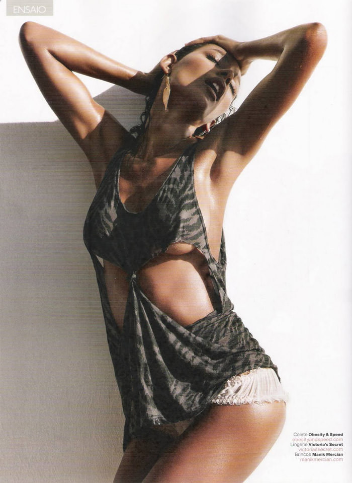 "Emanuela De Paula photographed by David Bond in ""Pérola Negra"" for GQ Brazil, June 2011"