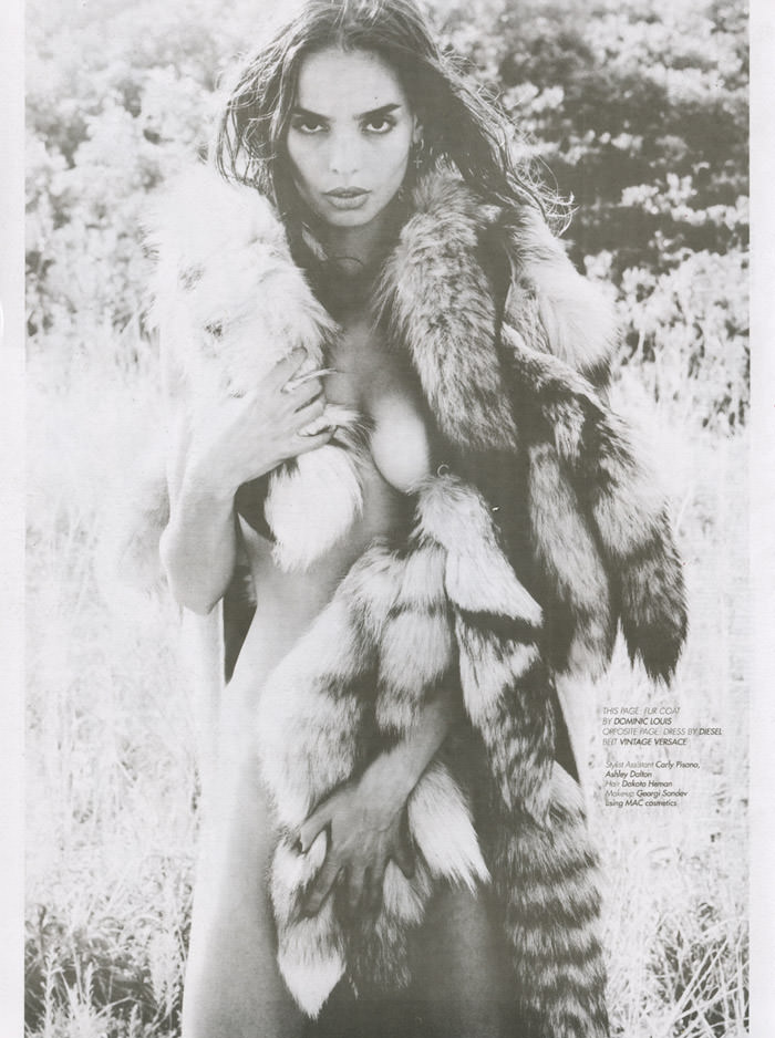 Sabrina Nait by Michael Donovan for LoveCat Magazine