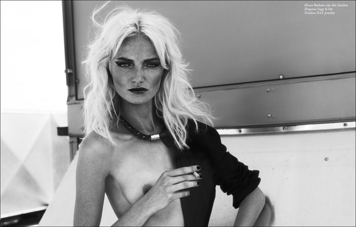 "Sharon van de Pas photographed by Paul Bakker in ""New Order"" for Vestal, Fall 2011"