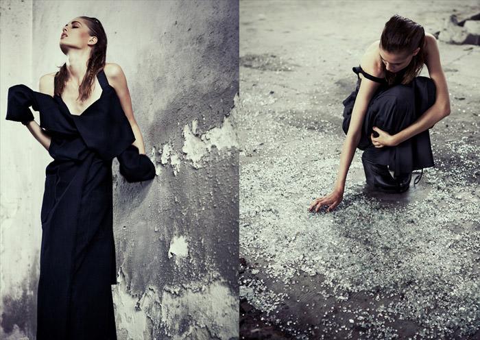 Nadja Bender by Riccardo Bernardi for Dossier Journal