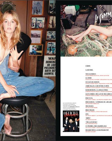 Camille Rowe by Andre Saraiva for L'Officiel Hommes Paris