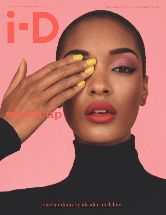 Jourdan Dunn by Alasdair McLellan for i-D