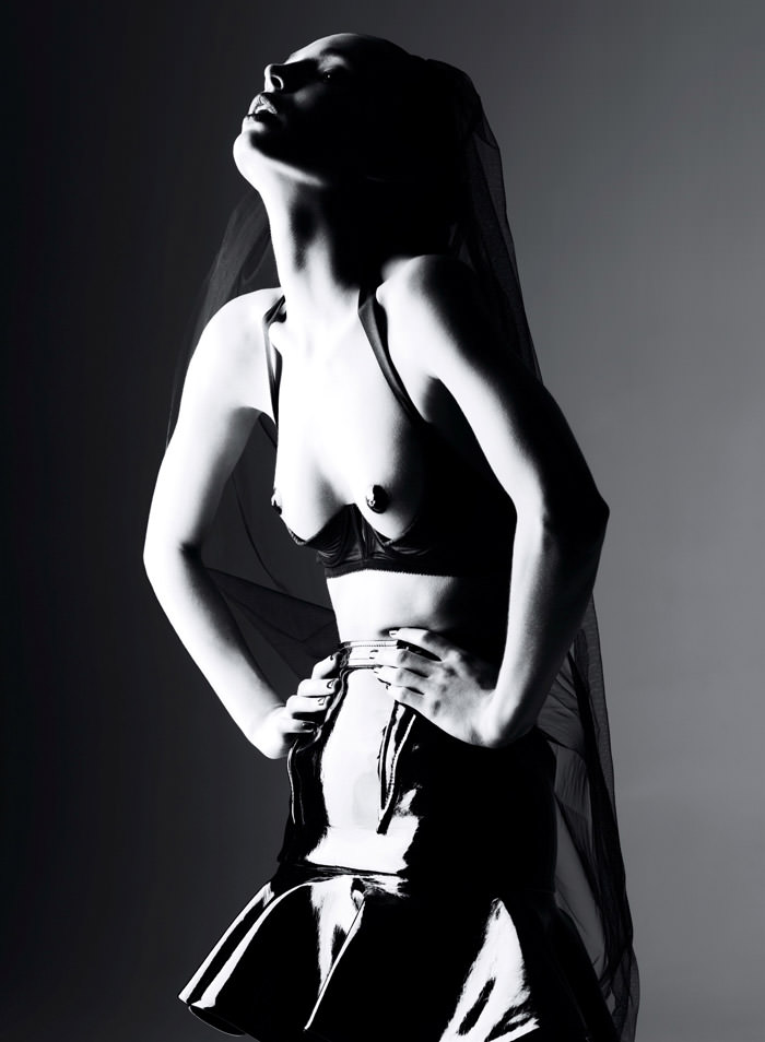 Carola Remer by Ben Hassett for Vogue Germany