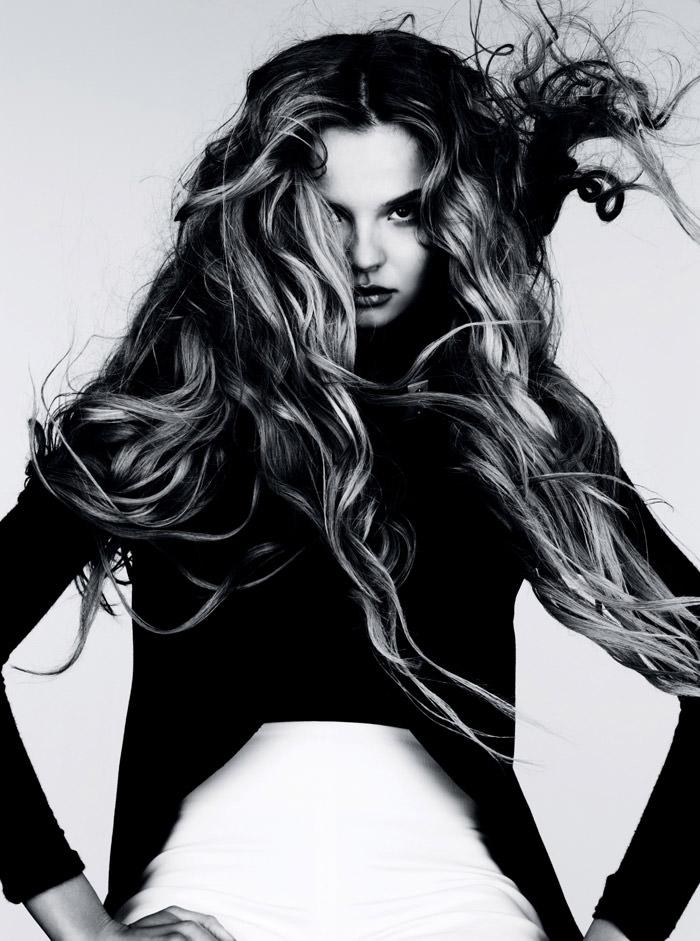 Magdalena Frackowiak photographed by Ben Hassett for Vogue Deutschland, January 2012