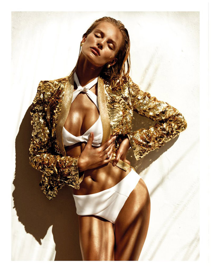 Edita Vilkeviciute by Greg Kadel for Vogue Spain