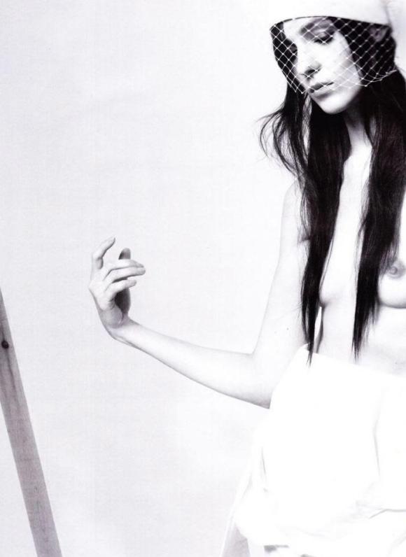 Kati Nescher by Daniel Jackson for Vogue Germany