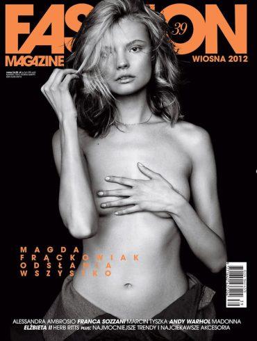 Magdalena Frackowiak by Magdalena Luniewska for Fashion Poland