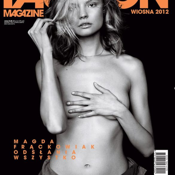 Magdalena Frackowiak by Magdalena Luniewska for Fashion Poland