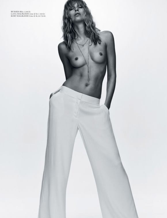 Iselin Steiro by Hasse Nielsen for Cover Magazine