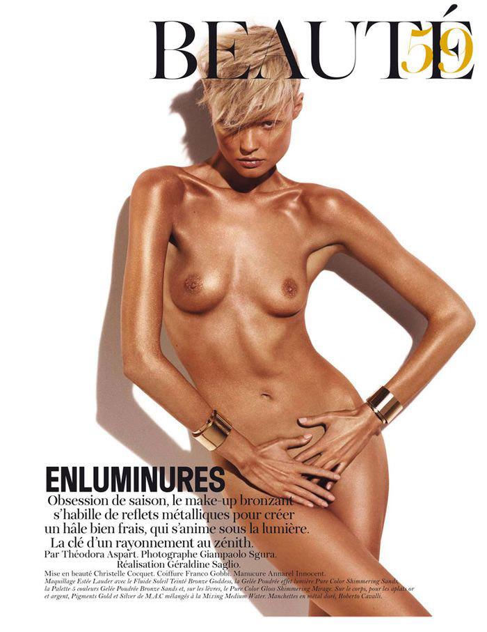 Magdalena Frackowiak by Giampaolo Sgura for Vogue Paris
