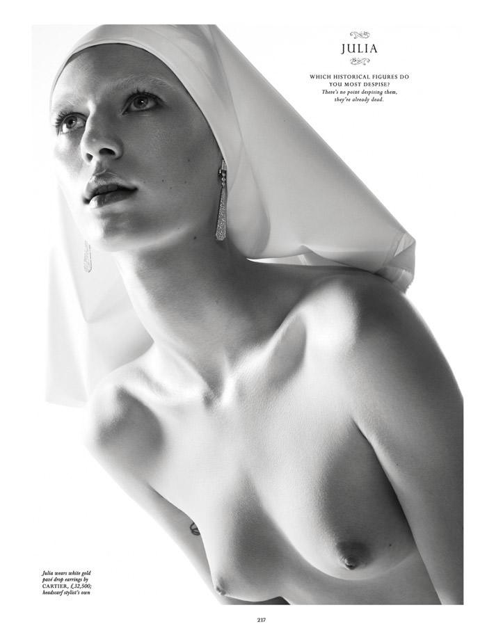 Julia Nobis by Daniel Jackson for Love Magazine