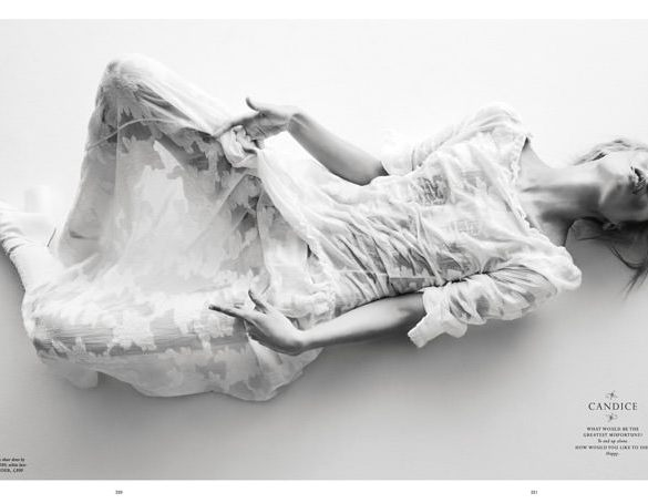Candice Swanepoel by Daniel Jackson for Love Magazine