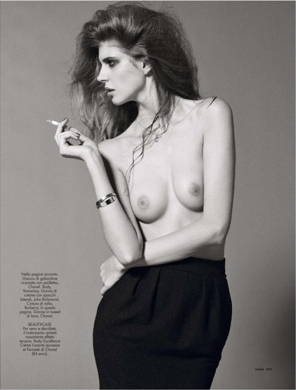Jennifer Messelier by Philip Gay for Velvet Magazine