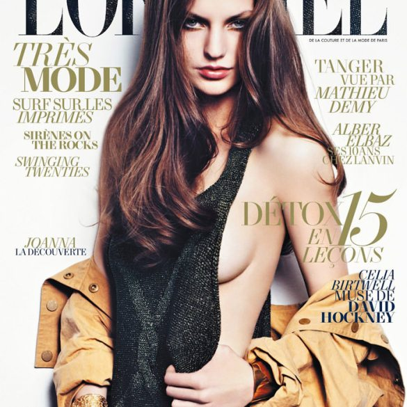 Joanna Koltuniak by Thomas Nutzl for L'Officiel Paris