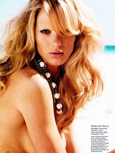 Anne Vyalitsyna by Nicolas Moore for Allure